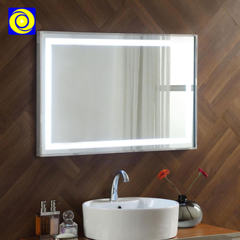 IP44 Rated led touch sensor switch bathroom backlit Mirror led light mirror