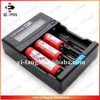 Top Quality Efan Unique X4 LCD display universal Battery ChargerFor Li-ion/IMR/LiFePO4/Ni-MH/Ni-Cd/AA/aaa/a battery