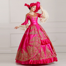 Instyle Vintage Royal Court Stage Costume Medieval Renaissance Victorian Ball Gown Dress