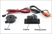 4 Inch Lcd Monitor 12v Rear View Camera Parking Sensor Car Parking ...