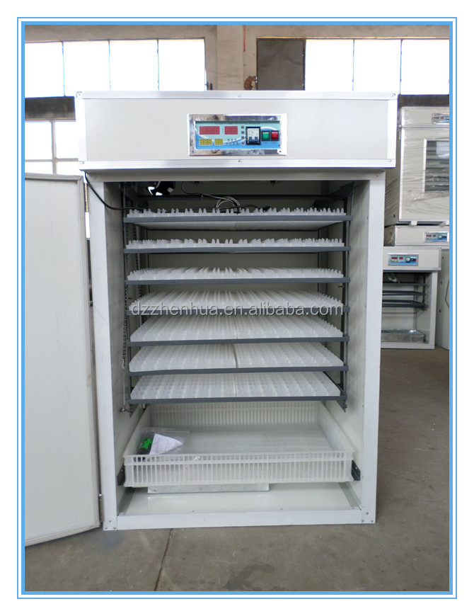 New durable high haching rate 1232 chicken egg incubator for hatchable eggs