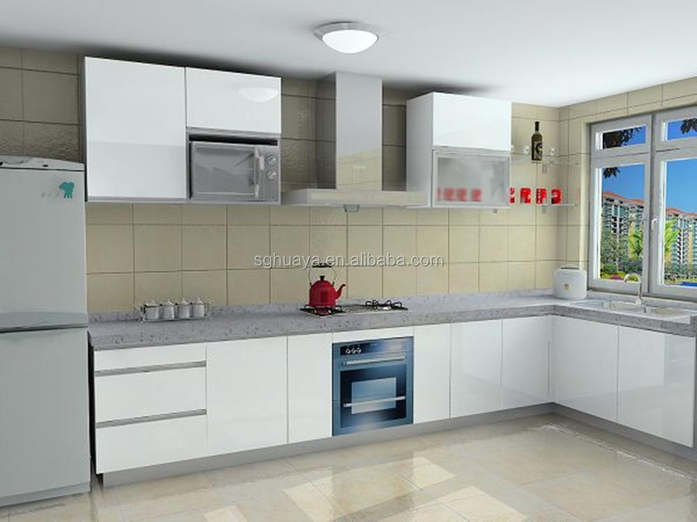 Modern Design Top Quality Lacquer Mdf Paint Colors Kitchen