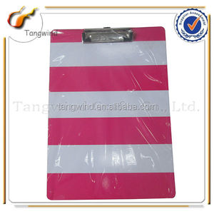 C819 Offices Supplies Clip Board with Art Printing Paper