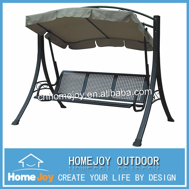 high quality metal frame 3 seat outdoor swinggarden swing chair with canopy buy 3 seat outdoor swinggarden swingswing chair product on alibabacom