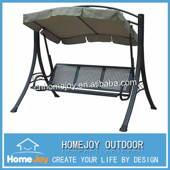High Quality Metal Frame 3 Seat Outdoor Swing,Garden Swing Chair With Canopy - Buy 3 Seat Outdoor Swing,Garden Swing,Swing Chair Product on ...