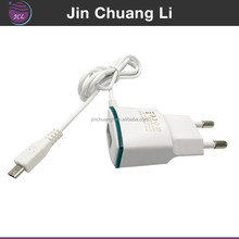 Portable promotional mobile phone emergency battery micro usb wall charger with cable