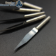 Knife Carbide Engraving Tools Milling Cutters Flat Bottom Mill Cutting Tool Bits V Shape ( 10 pcs 3.175mm 20Angle 0.1mm)