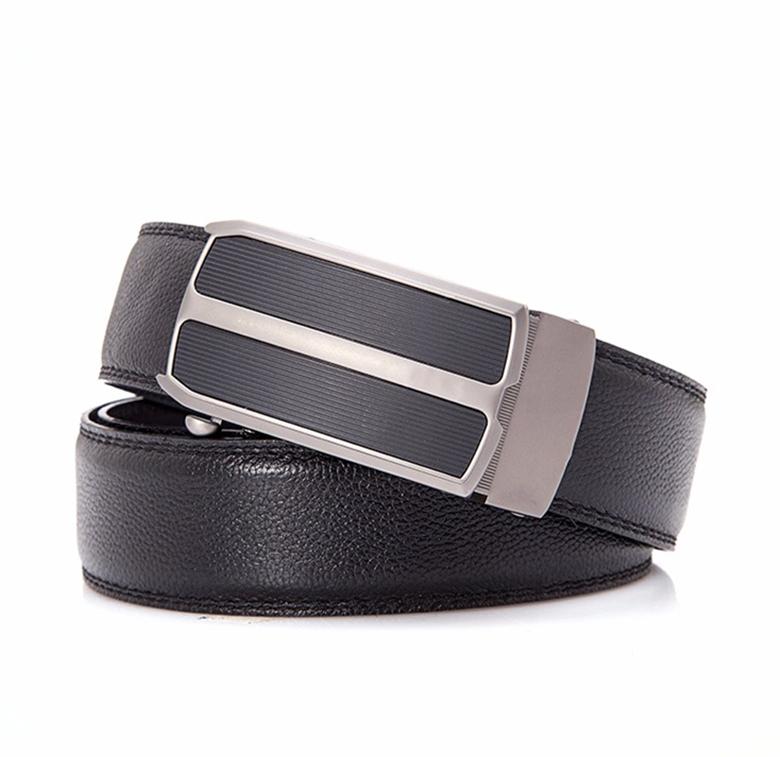 Alfa — ceinture automatique en cuir PU pour homme, de haute qualité, chasteté