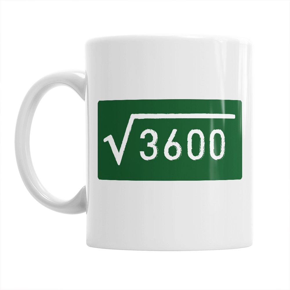 60th Birthday, 60th Birthday Gift, 60th Birthday Gifts For Men, 60th birthday Gifts For Women, 1957 Birthday, Square Root Mug 1957, Coffee Mug