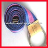 2013 high quality colorful fashion canvas belt with double buckles