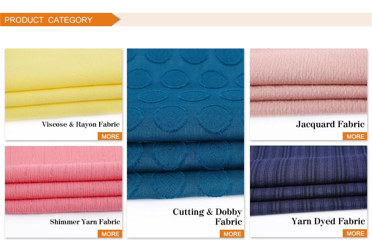 Yeni Jakarlı tasarım 85% rayon 15% keten karışımlı oxford pamuklu kumaş madras cidde