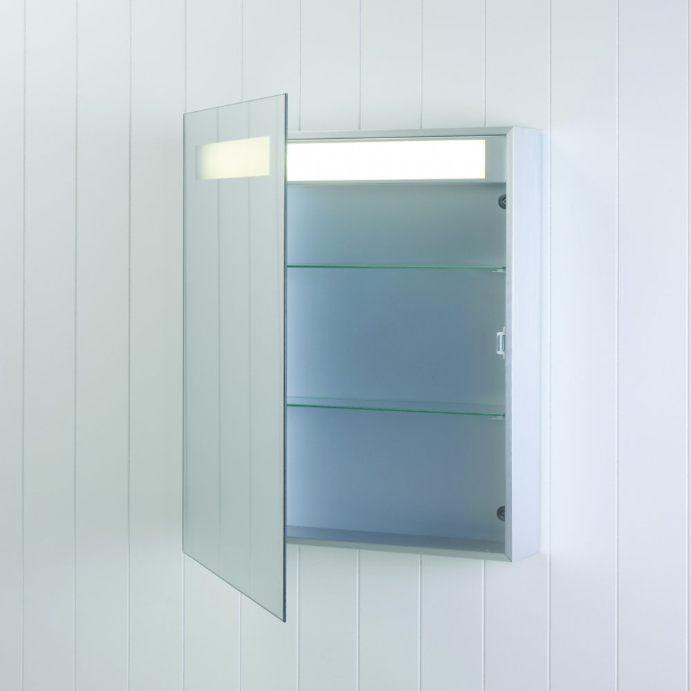 Multifunctional New Design Led Bathroom Mirror Cabinet With Light ...