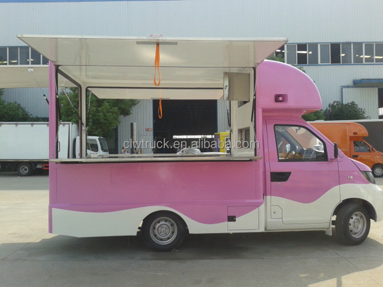 2015 Small China Made Style Vending Carts Colorful Mobile Food Truck For Sale