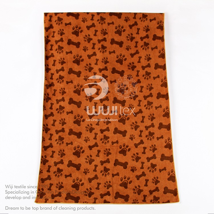 China wholesale hot selling Quick-Dry dog cleaning microfiber towel