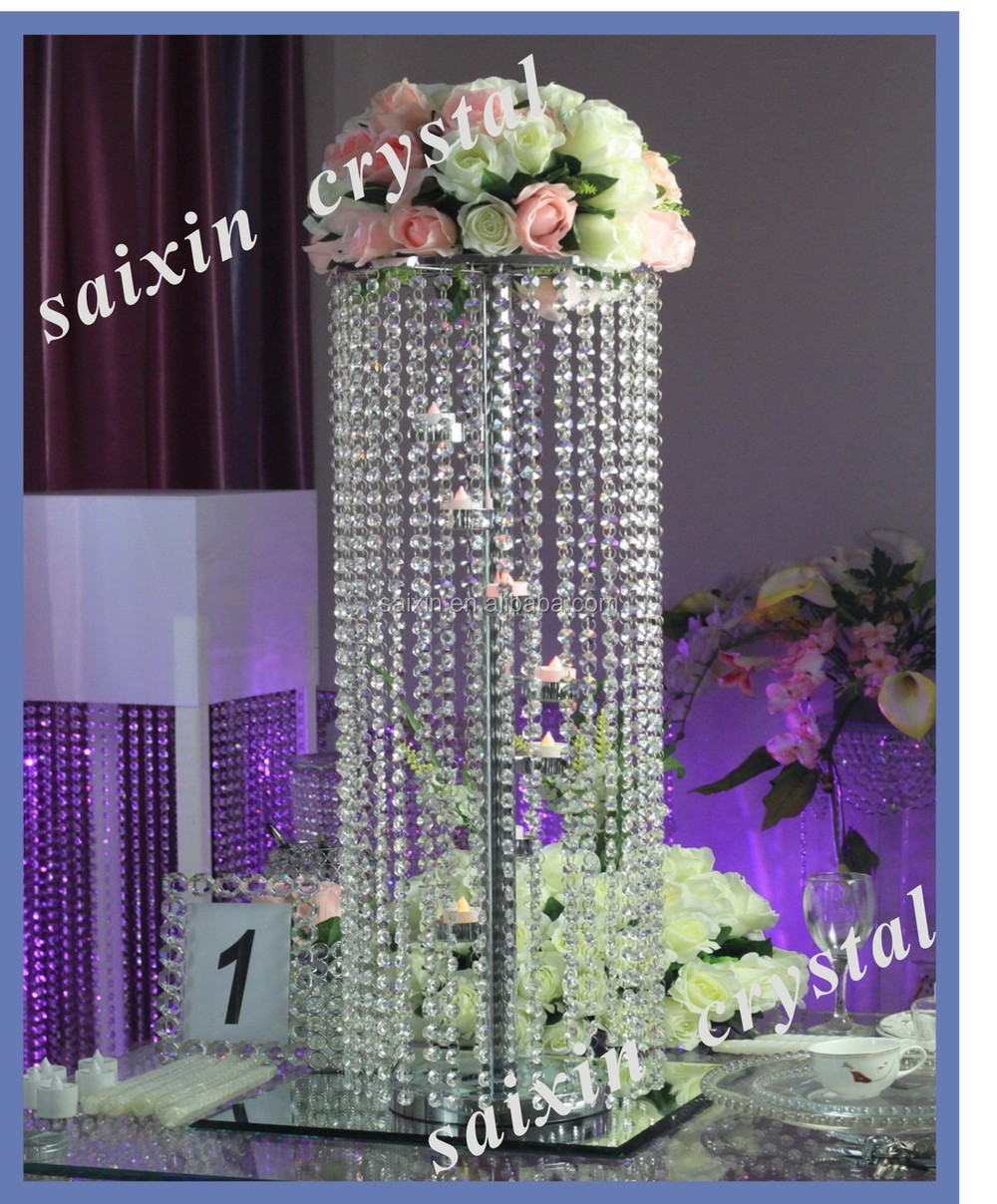 Beautiful crystal standing flower holder for wedding decoration beautiful crystal standing flower holder for wedding decoration centerpieces reviewsmspy