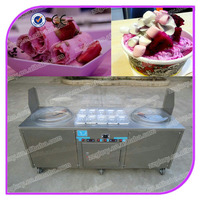 Zzglory factory supply high quality GL-F700 rolled fried ice cream machine