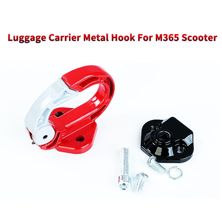 Front Aluminium Hook Metal Claw Hanging Bags for XiaomiMijia M365 Electric Scooter/Hanger Gadget Metal Hook/Luggage Carrier