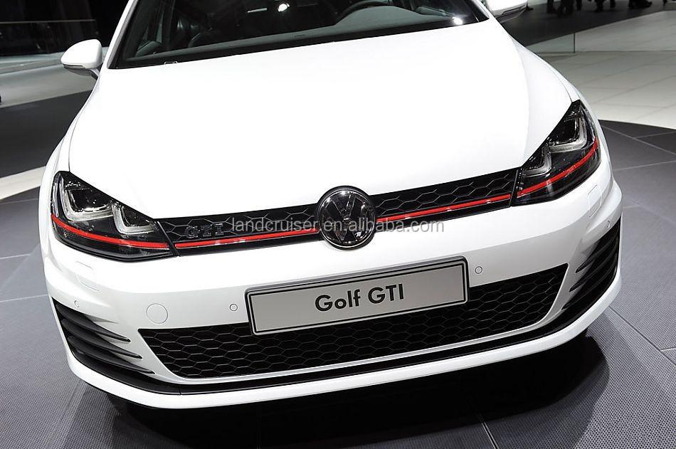 2014 vw golf 7 gti facelift front bumper with drl for golf. Black Bedroom Furniture Sets. Home Design Ideas