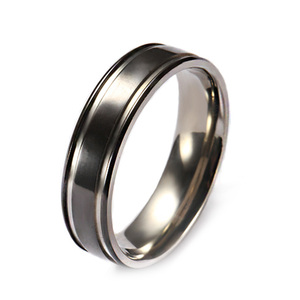 Sales high polished hot latest titanium rings jewelry women