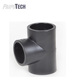 Plastic Pipe Fittings HDPE/ PE/ PN16 Socket Equal Tee for Water Supplying
