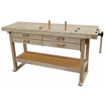 Remarkable Rubber Wood New Style 4 Drawers Wooden Working Bench Buy Wood Carving Bench Movable Workbench Homemade Workbench Product On Alibaba Com Short Links Chair Design For Home Short Linksinfo