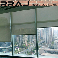 RRAJ Screen Window Roller Shade Sunscreen