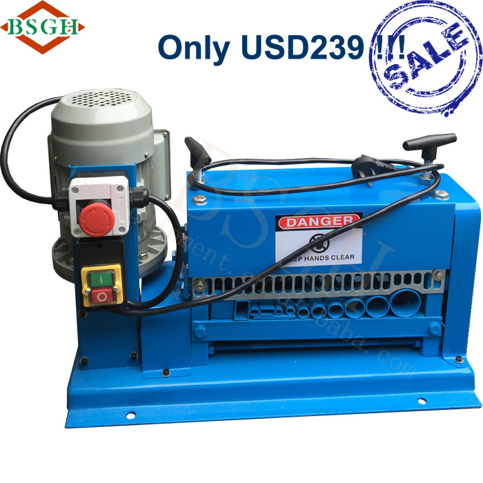 Stripping Tool BS-015M Copper Brake Wire Electrica Cable Extrusion Machine