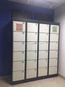 Laundry Cabinet Washing Machine Storage Cabinet QR Code Locker