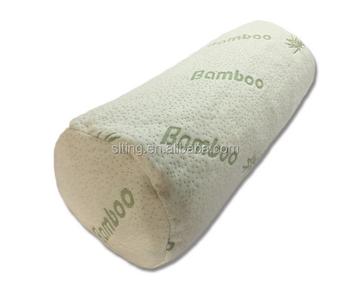 Shredded Memory Foam Bamboo Bolster Pillow
