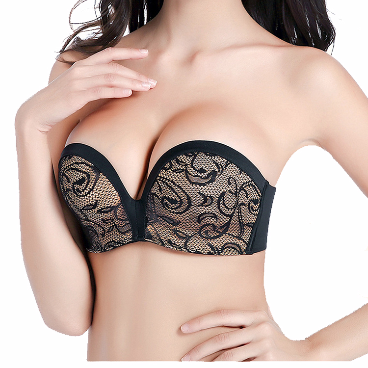 9db46d8db Women Comfortable No Slipping Body Plain Ultimate Non-wired Padded Strapless  Bra