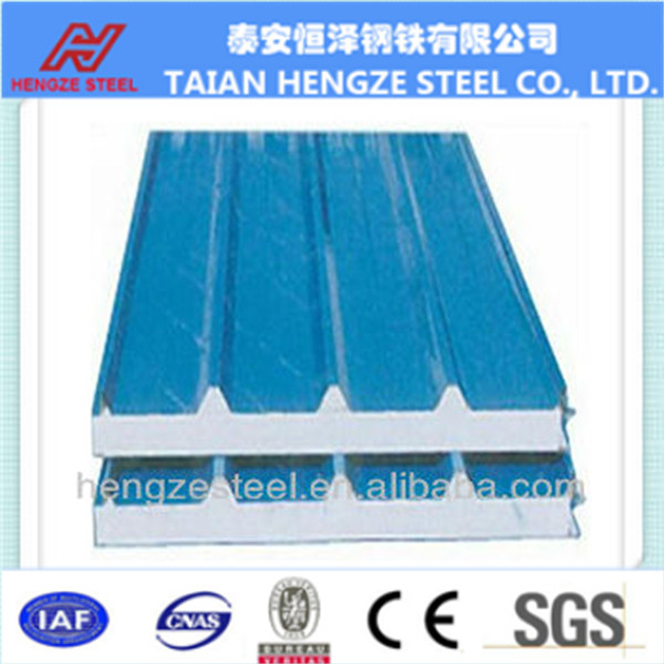Pre-painted corrugated steel roofing sheets Building structural material