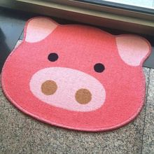 Shape Custom Animal Design Polyester Kids Carpets