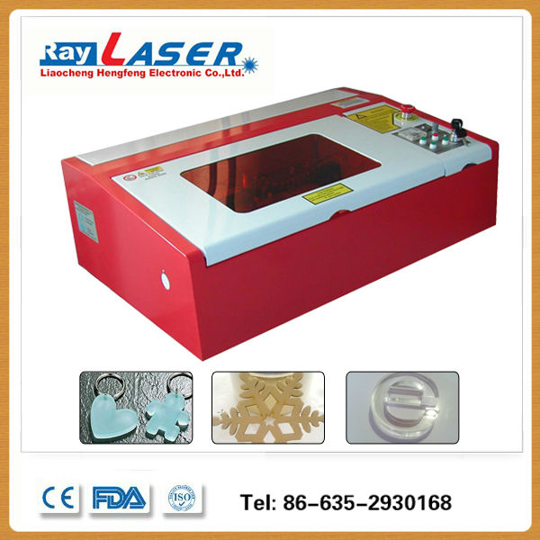 MINI Laser engraving machine for wood crafts, leather, acrylic, rubber stamp, conut shell, plastic, wood