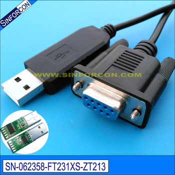 Usb Rs232 Cross Wired Crossover Null Modem Cable For Setbox ...