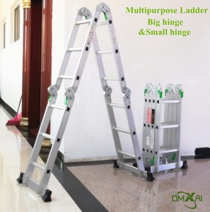 multi-function manhole movable super safety ultimate aluminium folding narrow step ladder as seen on TV