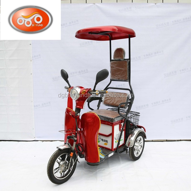 Cheap Small Electric Bike For Elderly 3 Wheel Electric