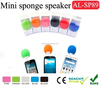 3.5mm jack mobile Small speaker colorful round ball 3.5mm Stereo Plug mini speaker