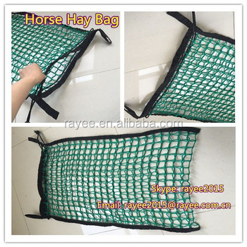 Horse Hay Bag Strap Type Go Around Slow Feeding Bags