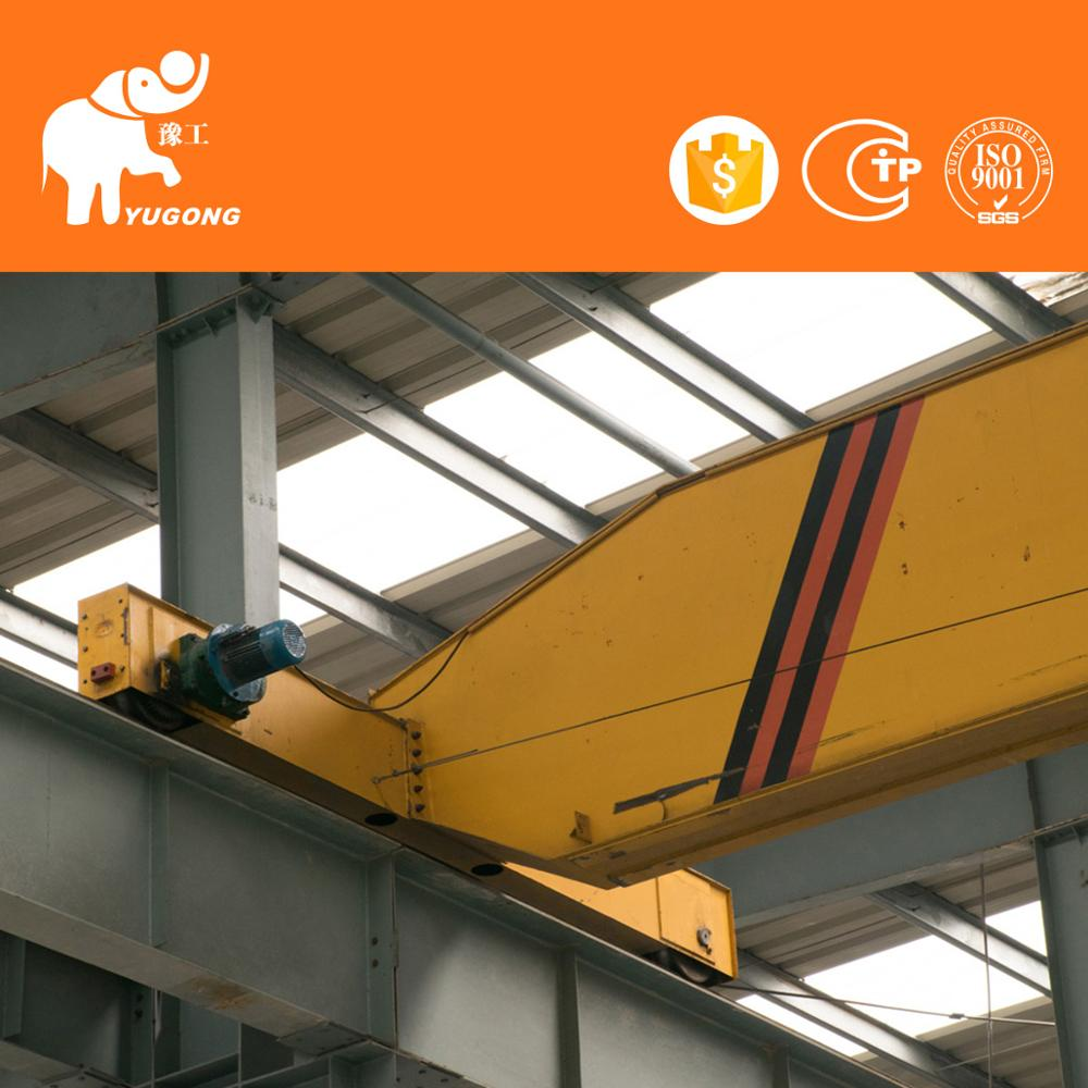 Double Rail Electric Hoist Trolley Overhead Traveling Crane 3~32t ...
