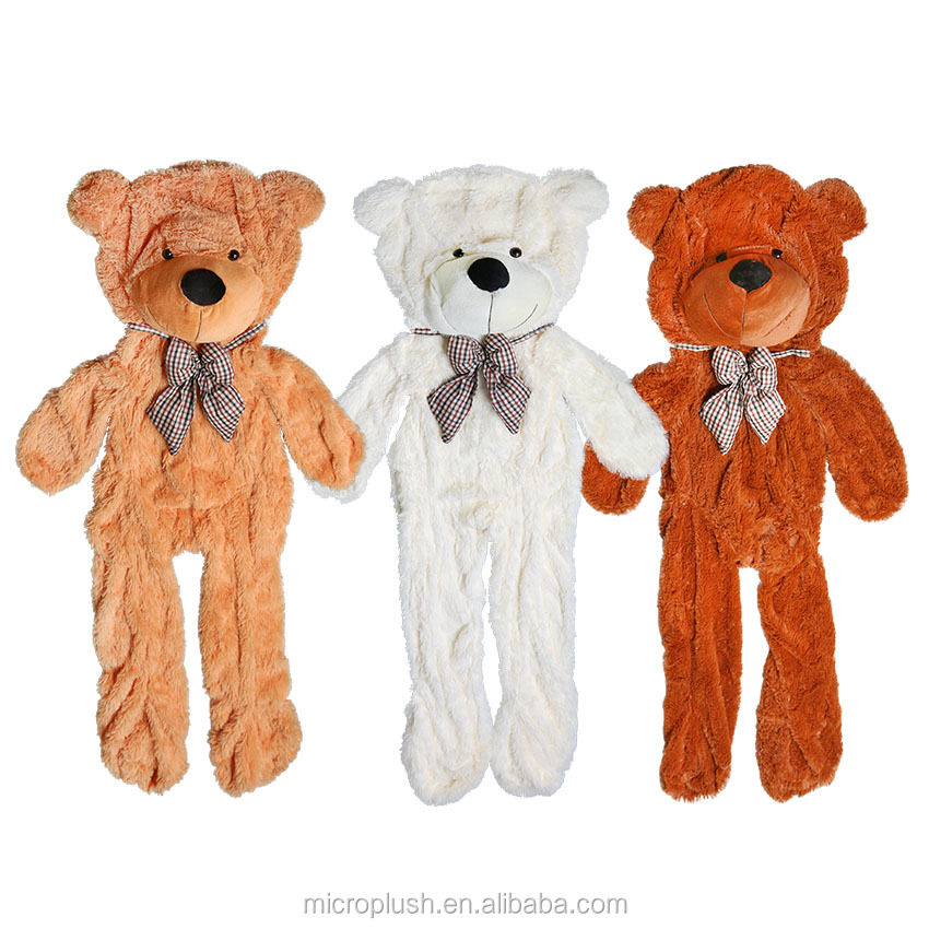 Factory price!!! 3colors Empty 170cm-180cm teddy bear toys skin Stuffed <strong>Animals</strong> & Plush Toys