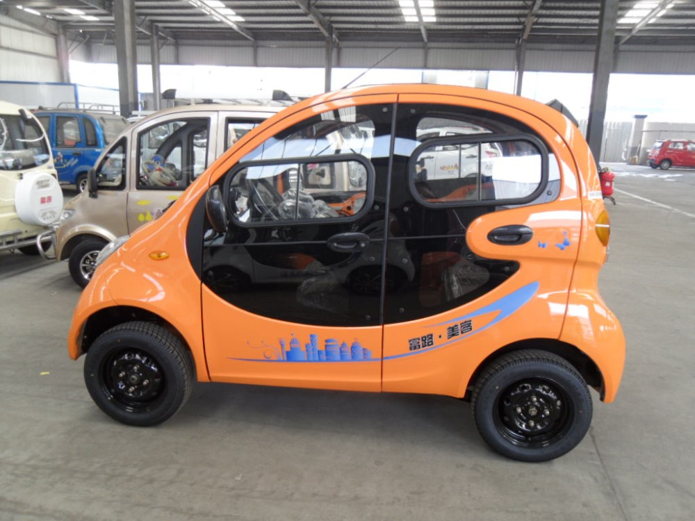 Electric Passenger Car With 4seats Cheap Electric Car For