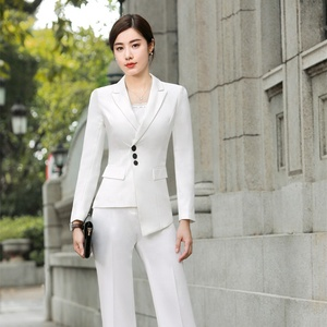 83bb08d7e6 Women Casual Office Business Suits Formal Work Wear Sets Uniform Styles  Elegant Pant and skirt Suits