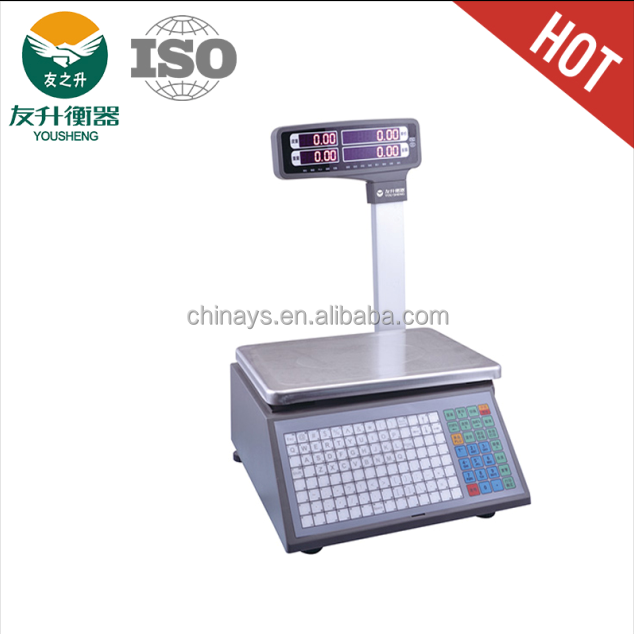 Electeronic Thermal Label Printing Scale Rls1000 Label Scale