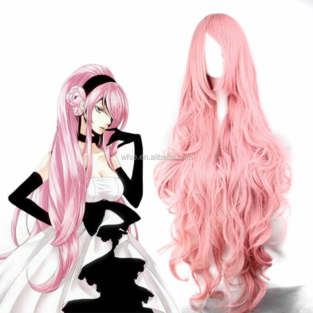 Factory Bulk Stocks Cheap Anime Cosplay Wig Multi Color