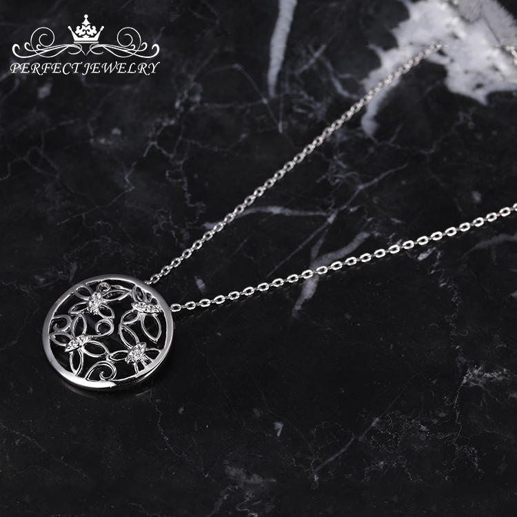 sterling silver pendant women wedding party engagement pendant charm necklace jewelry