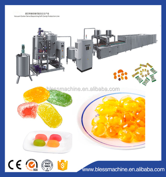 2018 Professional manufacturer gummy making machine with Alibaba trade assurance