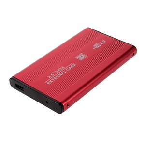 USB 2.0 2.5 Inch SATA Enclosure External Case For Notebook Laptop Hard Disk