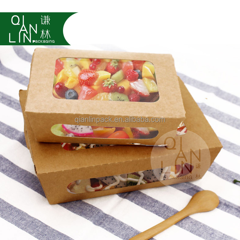 Customized Logo Printing Kraft paper box /Pizza packing box