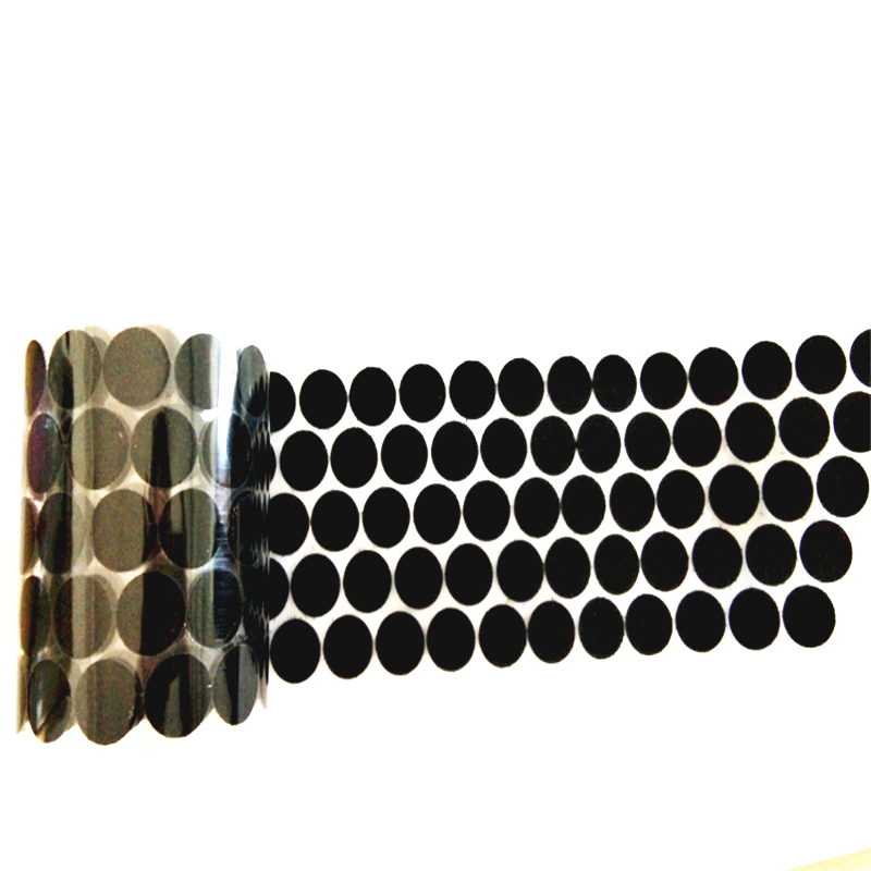 Custom Size Self Adhesive Hook and Loop Dots Manufacturer