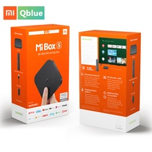Globale Versione Xiaomi Mi <span class=keywords><strong>TV</strong></span> <span class=keywords><strong>BOX</strong></span> S Smart 4 K Ultra HD 2G 8G Android 8.1 WIFI Google cast Netflix Lettore Multimediale <span class=keywords><strong>IPTV</strong></span> Set top <span class=keywords><strong>Box</strong></span>